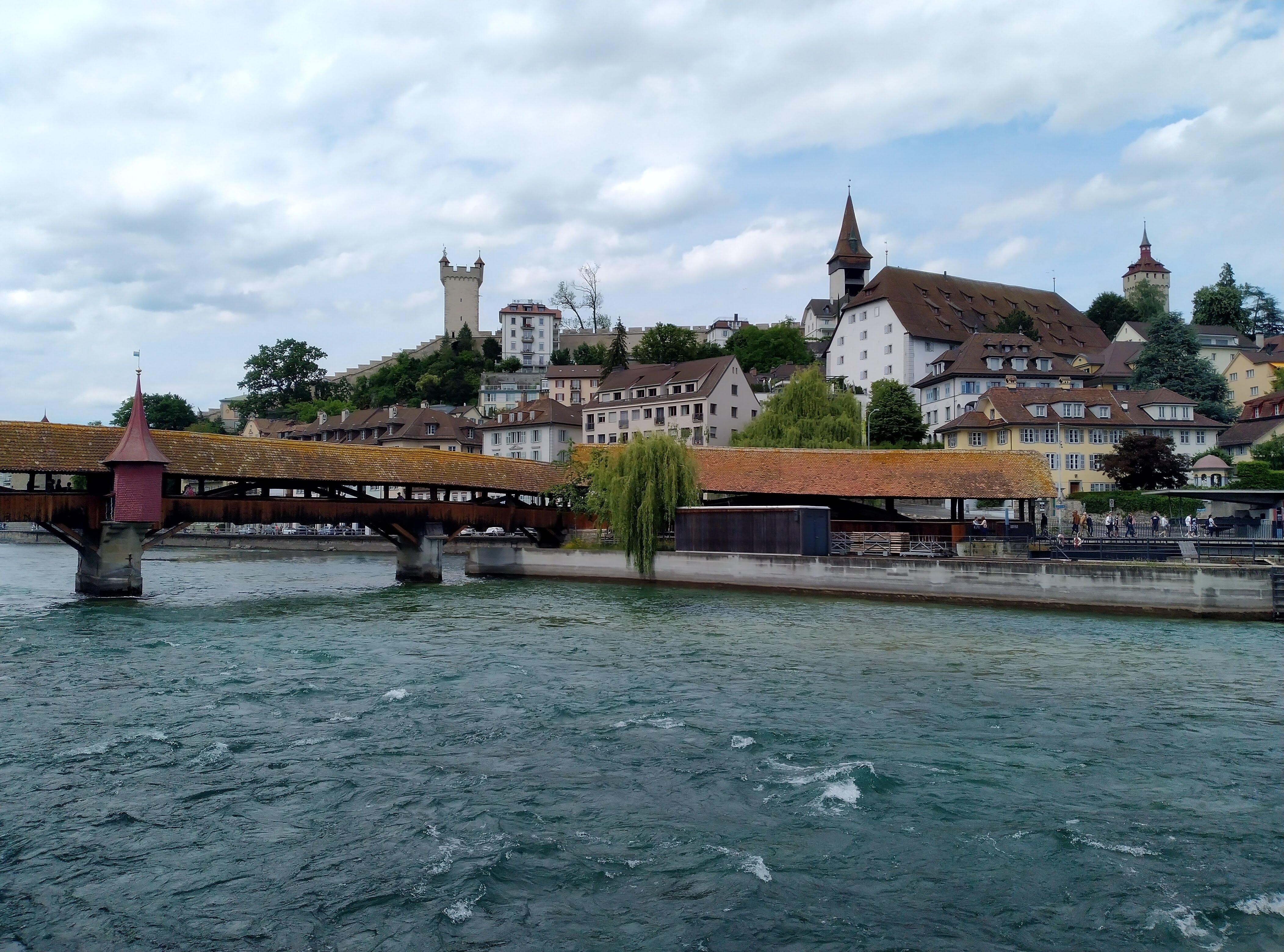 Foto von Luzern, aufgenommen mit dem Nokia 5.3.