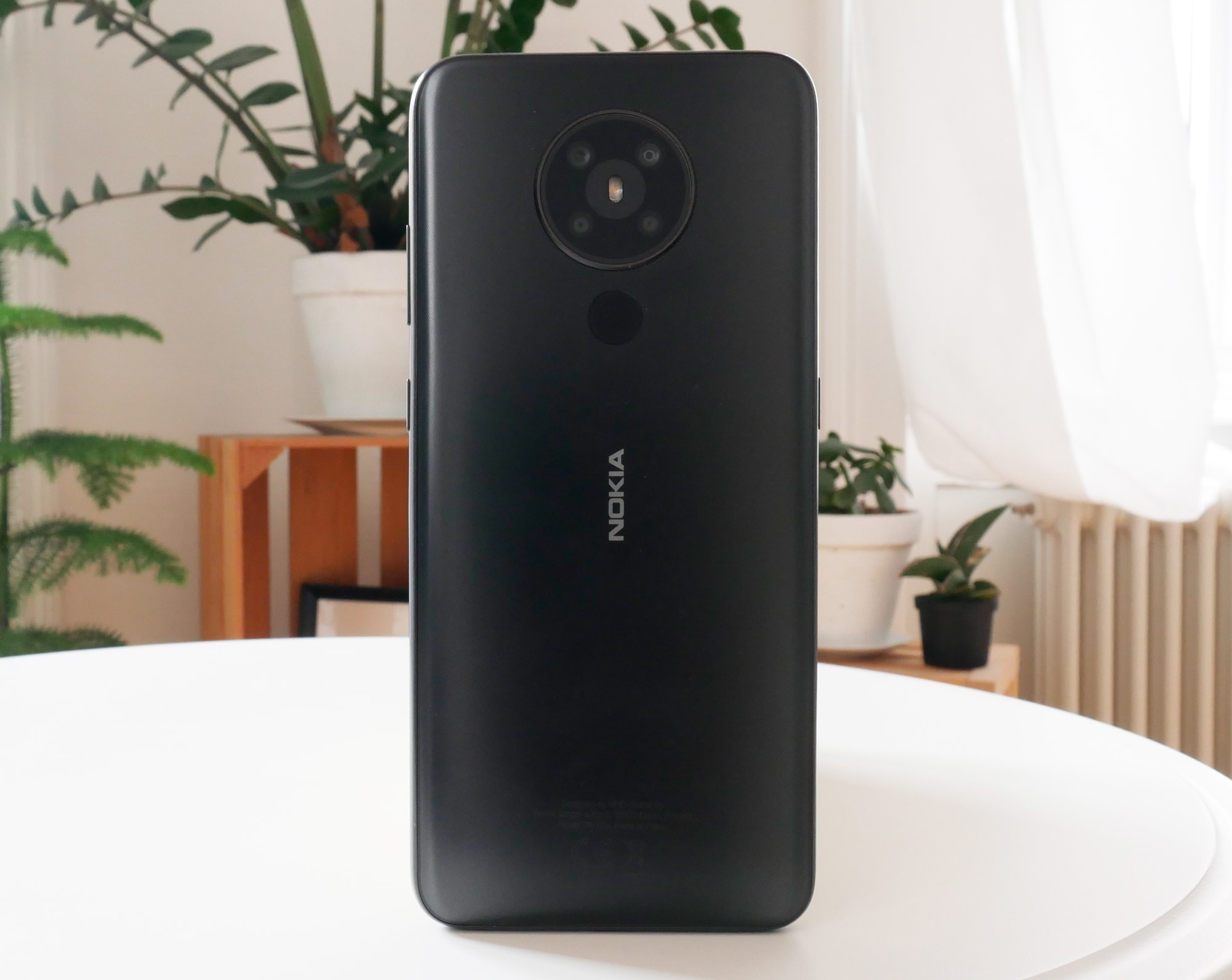 Nokia 5.3 Rückseite mit vier Kameras.
