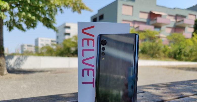 Das LG Velvet 5G