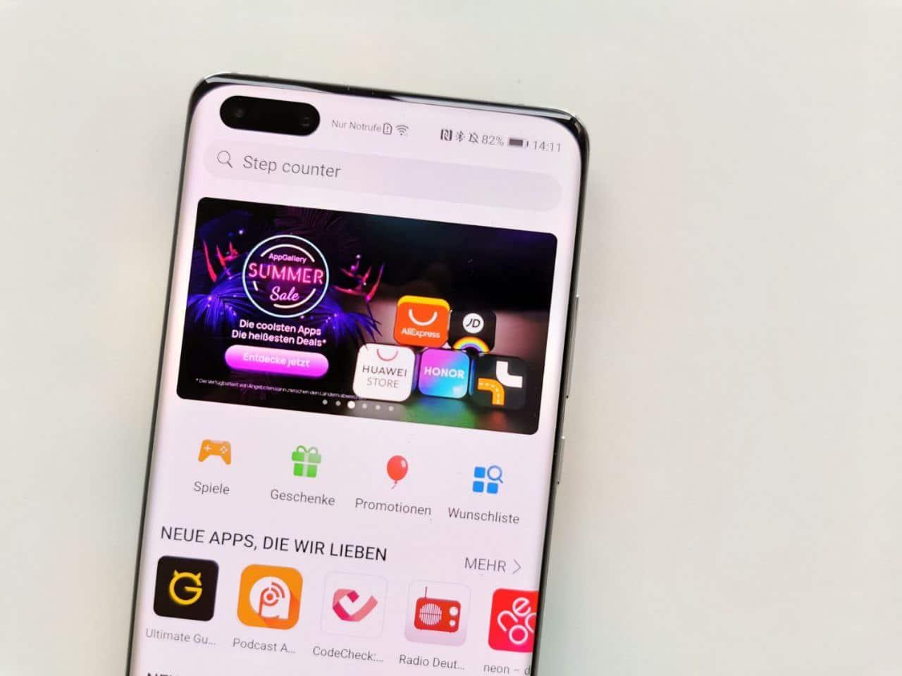 Huawei P40 Pro: Welche Apps gibt es in der AppGallery?