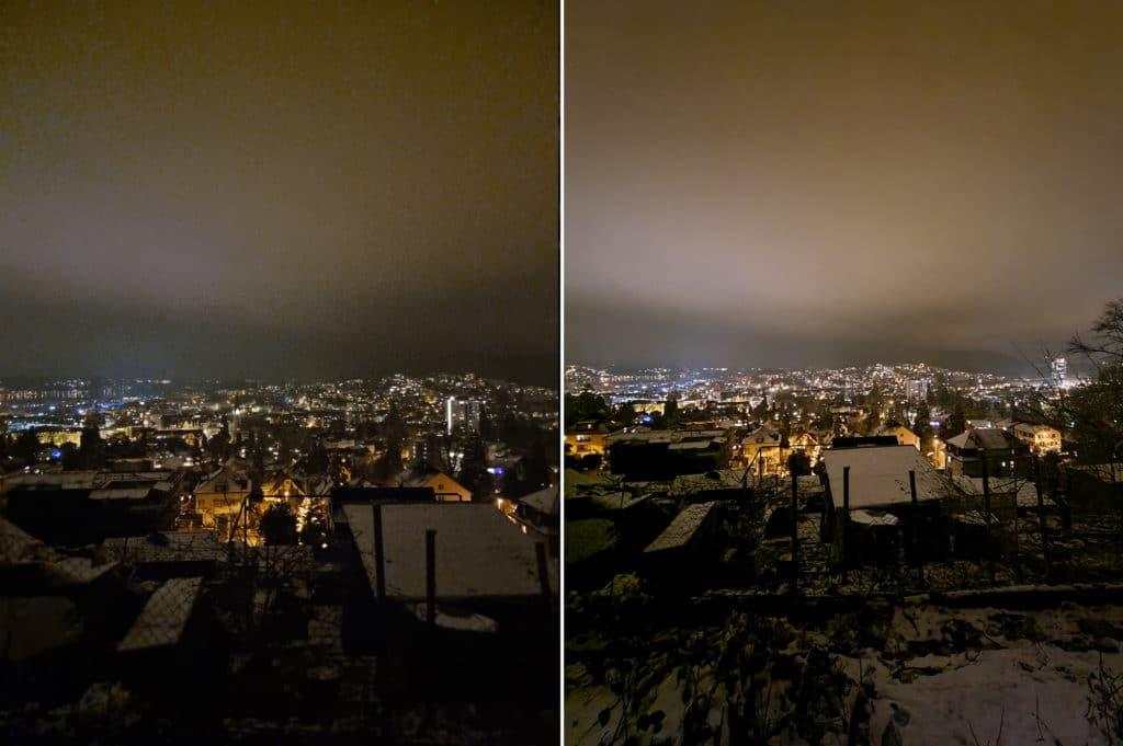 Samsung Galaxy S21 Ultra Test Nachtaufnahme