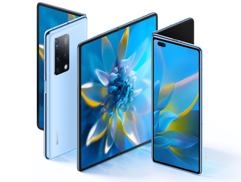 Das neue faltbare Smartphone Huawei Mate X2