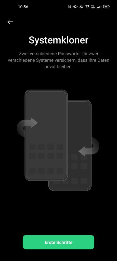 Systemkloner auf Oppo Find X3 Pro