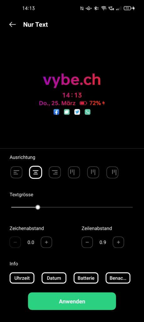 Oppo Find X3 Pro Always-on-Display einstellen