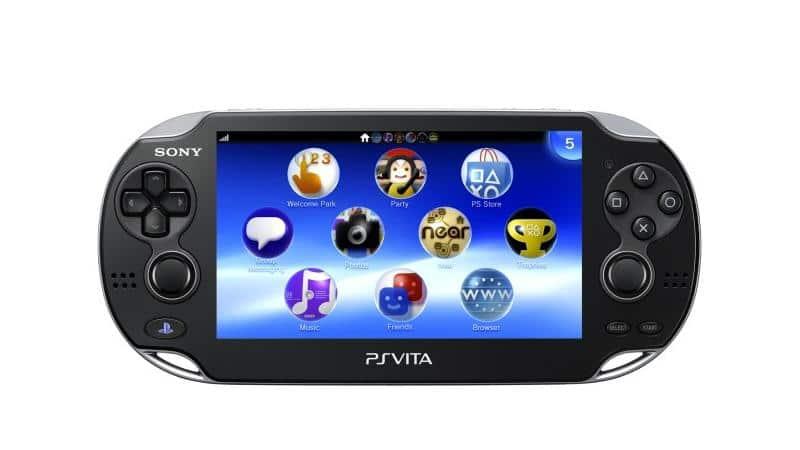 Die PlayStation Vita Handheld-Konsole