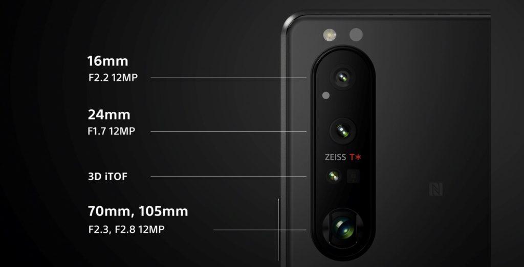 Das Kamera-Setup des Sony Xperia 1 III