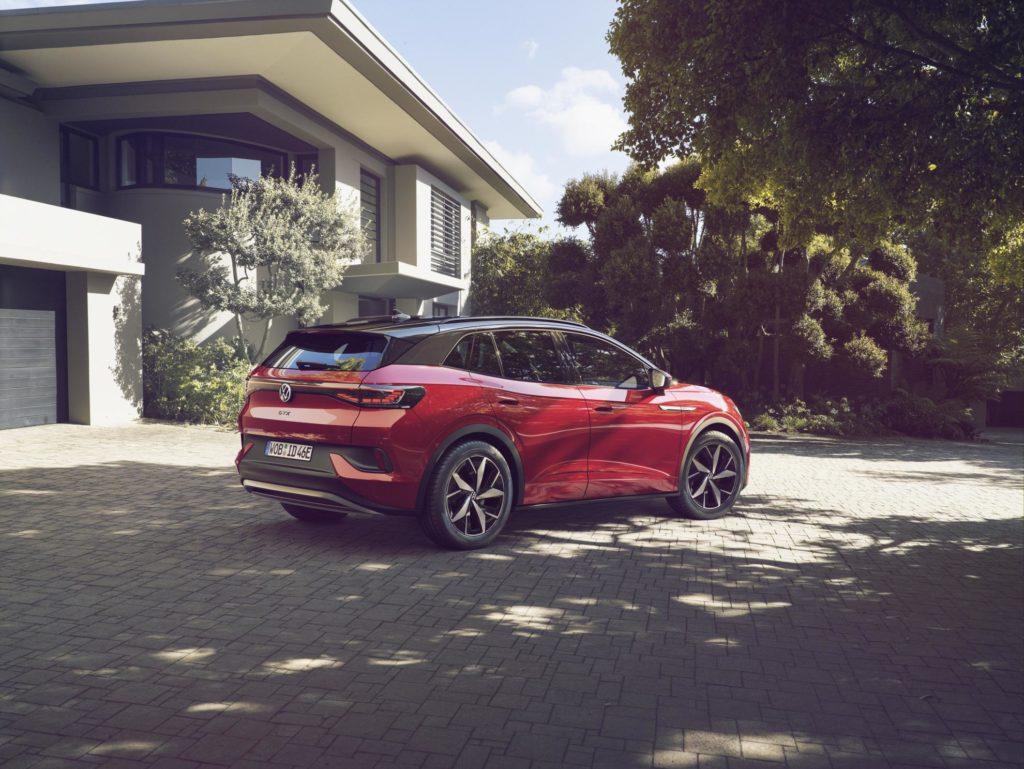 Volkswagen ID.4 GTX in Rot