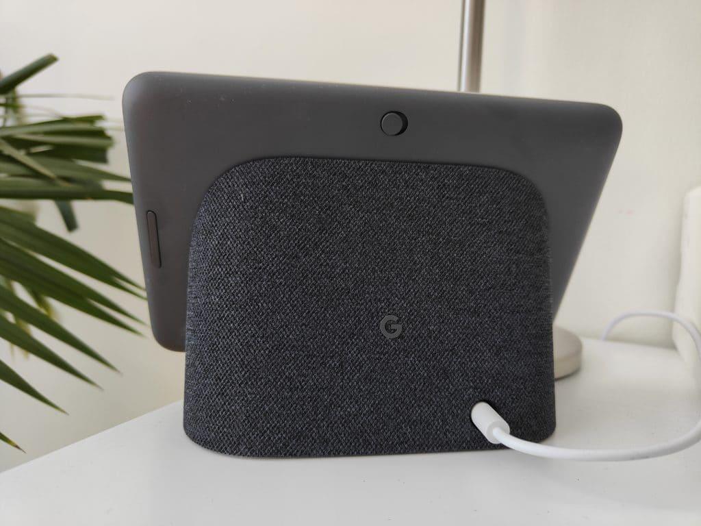 Google Nest Hub (2. Gen.) Rückseite