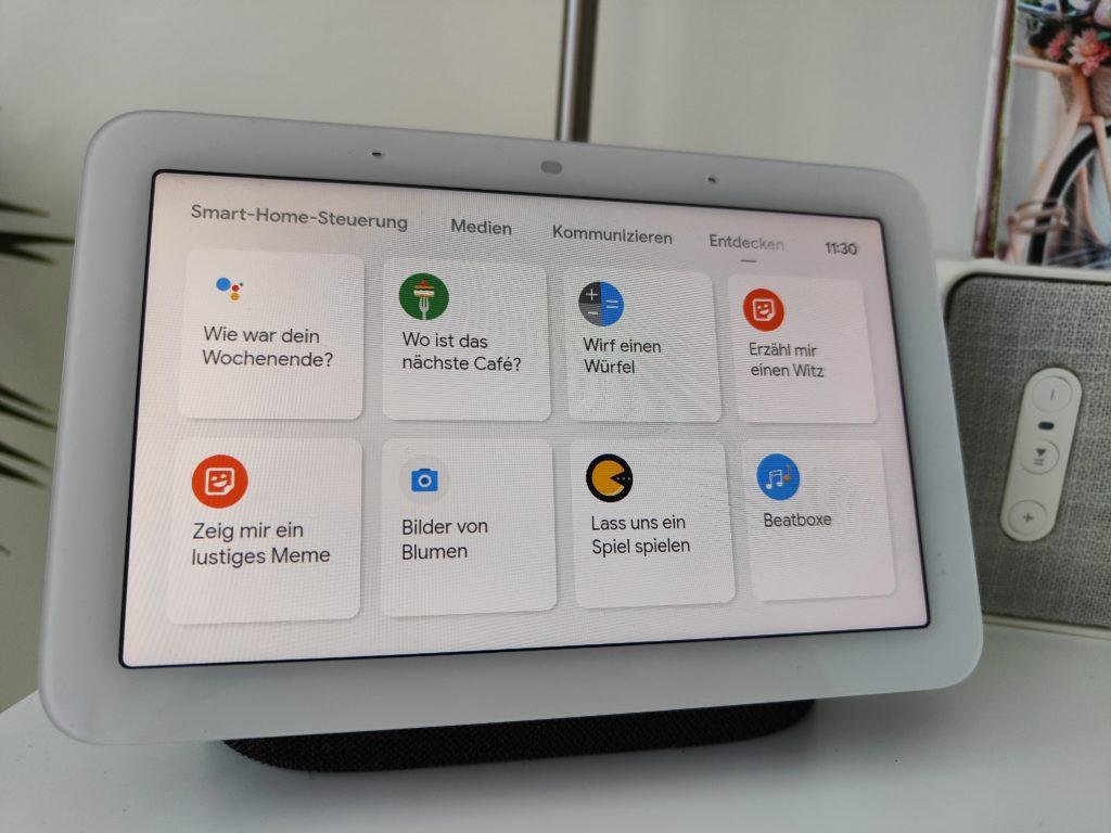 Google Nest Hub (2. Gen.) weitere Features