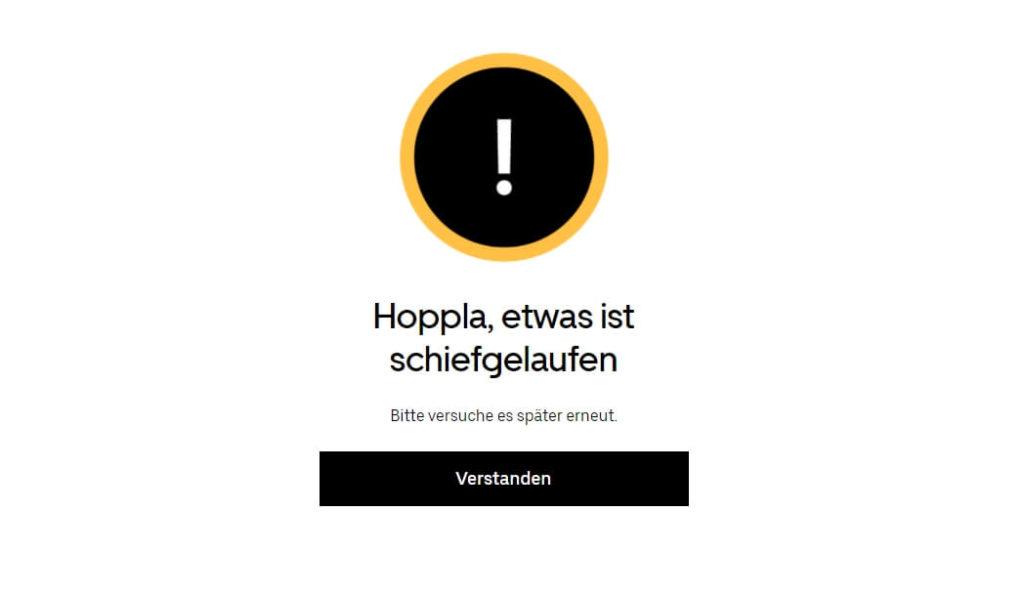 Uber Eats Pass Schweiz für Testphase anmelden