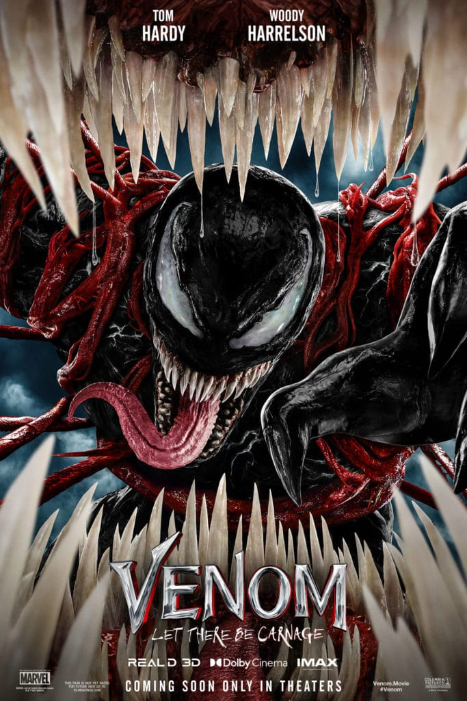 Venom 2: Let there be Carnage offizielles Poster zum Film.