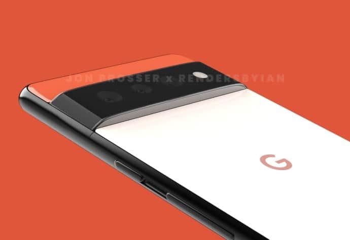 So soll das Google Pixel 6 Pro aussehen