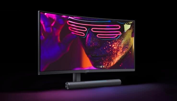 Der Huawei MateView GT Gamer-Monitor