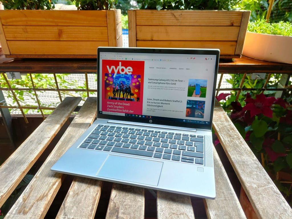 HP ProBook 635 Aero G7 Test: Display