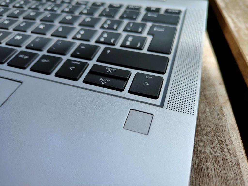 HP ProBook 635 Aero G7 Test: Fingerprintscanner