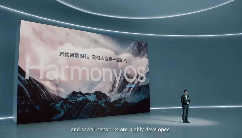 HarmonyOS Präsentation vom 2. Juni in China mit CEO Richard Yu.