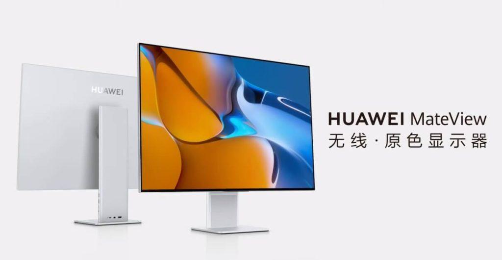 Huawei MateView ist ein Monitor für Kreative.