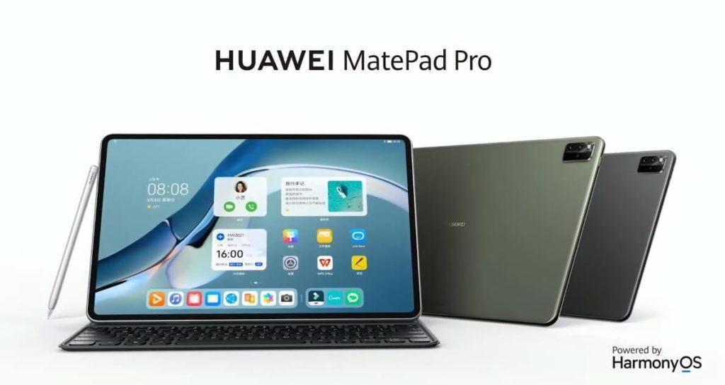 Huawei MatePad Pro mit M-Pencil und HarmonyOS.