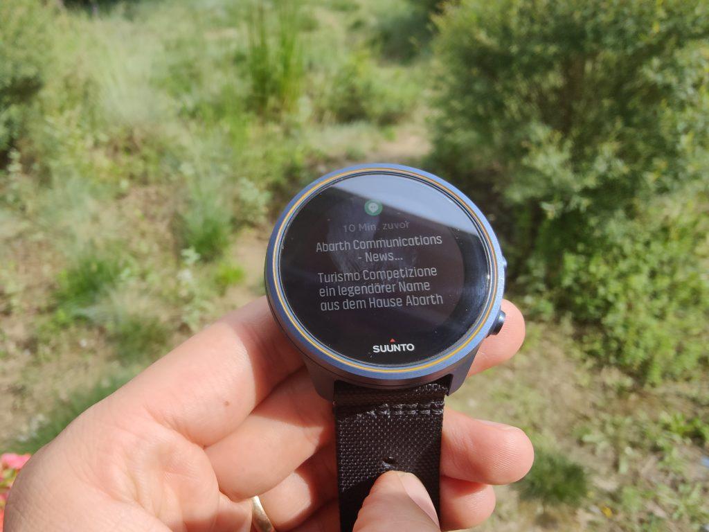 So sehen Benachrichtigungen auf der Uhr aus - einfach