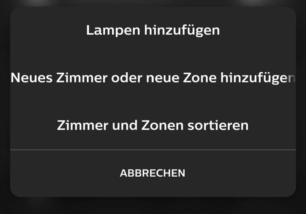 Neue Philips Hue-App