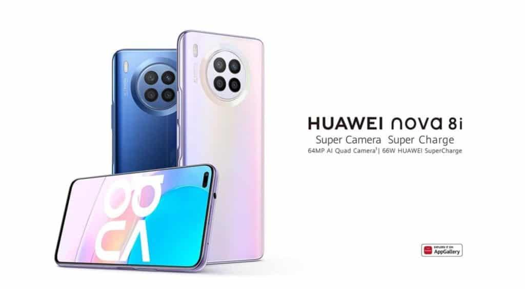 Huawei Nova 8i Vorstellung global