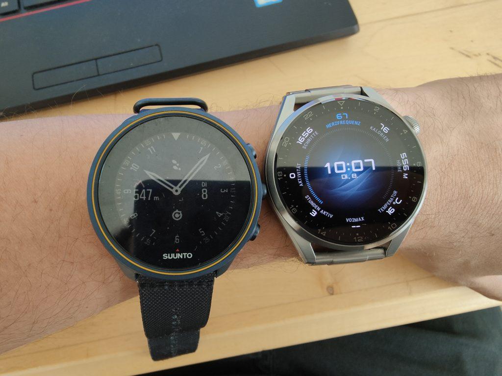 Suunto 9 Baro Titanium vs. Huawei Watch 3 Pro