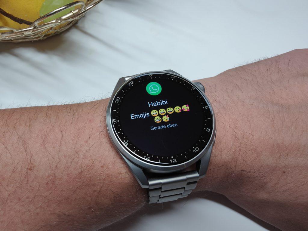 Huawei Watch 3 Pro Emojis