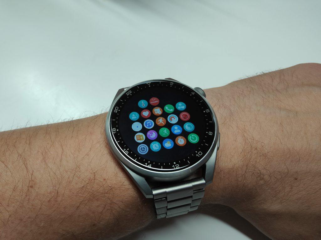 Huawei Watch 3 Pro Hauptmenü