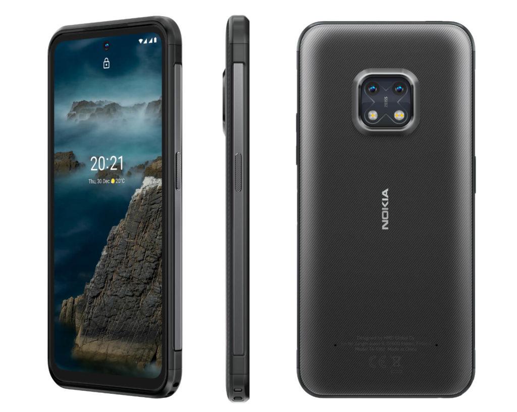 Nokia XR20 Granite Ansicht von allen Seiten.