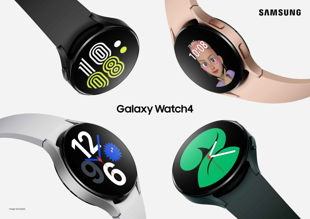 Samsung Galaxy Watch4 Keyart
