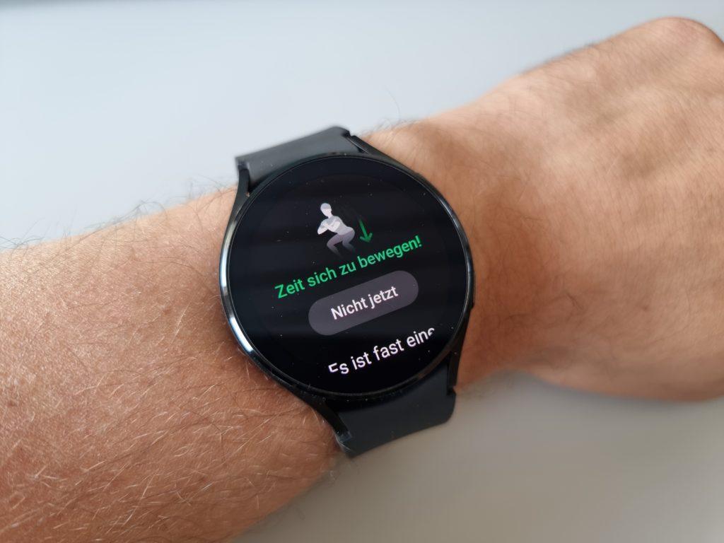 Samsung Galaxy Watch4 Bewegungsereinnerung