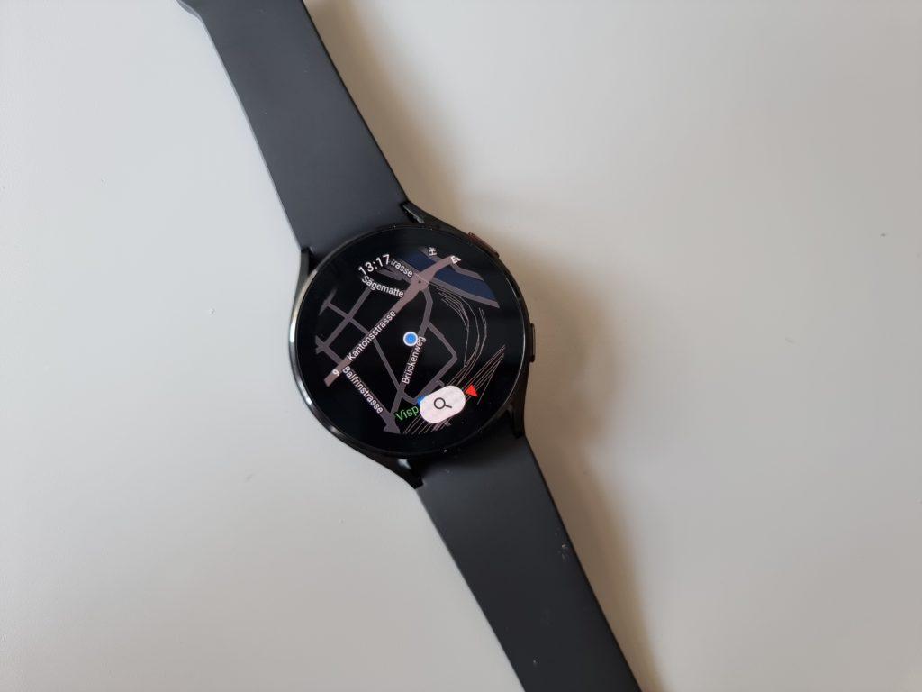 Samsung Galaxy Watch4 Google Maps
