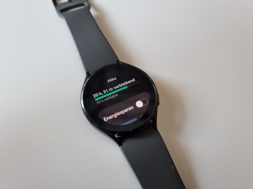 Samsung Galaxy Watch4 Akku