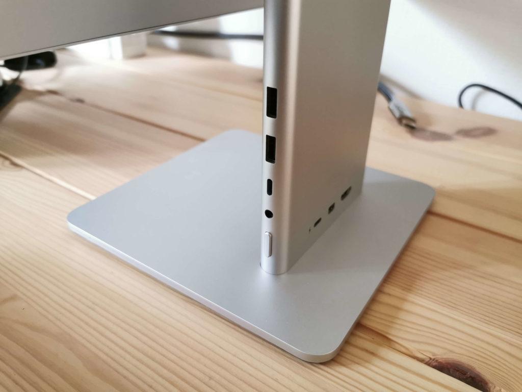 Huawei MateView im Test: Anschlüsse.