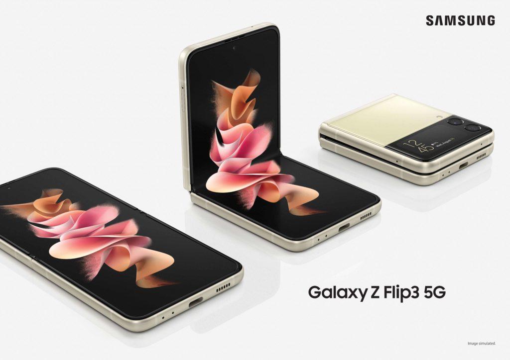 Das neue Galaxy Z Flip 3 5G neu vorgestellt.