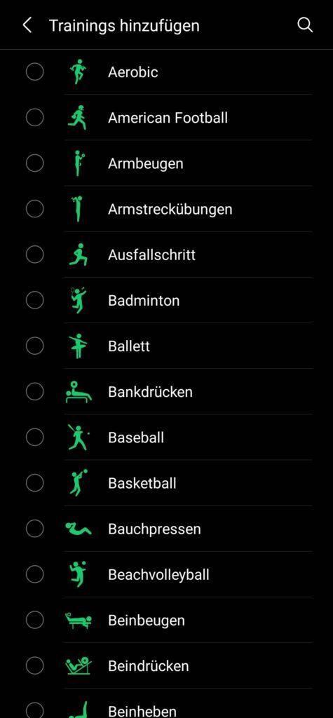 Samsung Health-App
