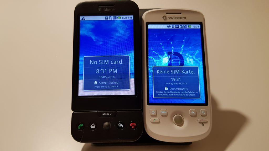 T-Mobile G1 / HTC Magic