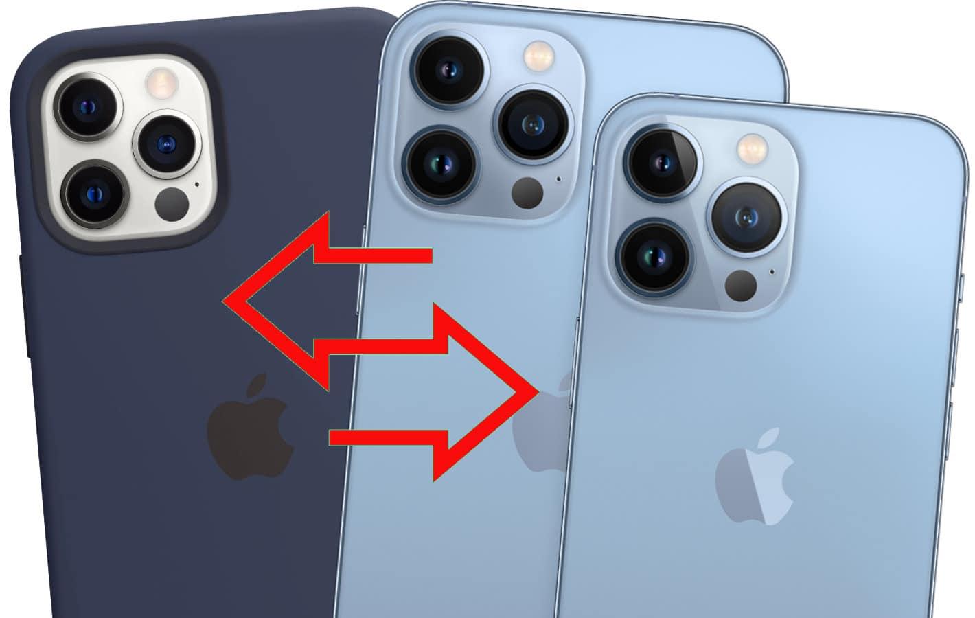 Passt die Hülle des iPhone 12 auf das iPhone 13?
