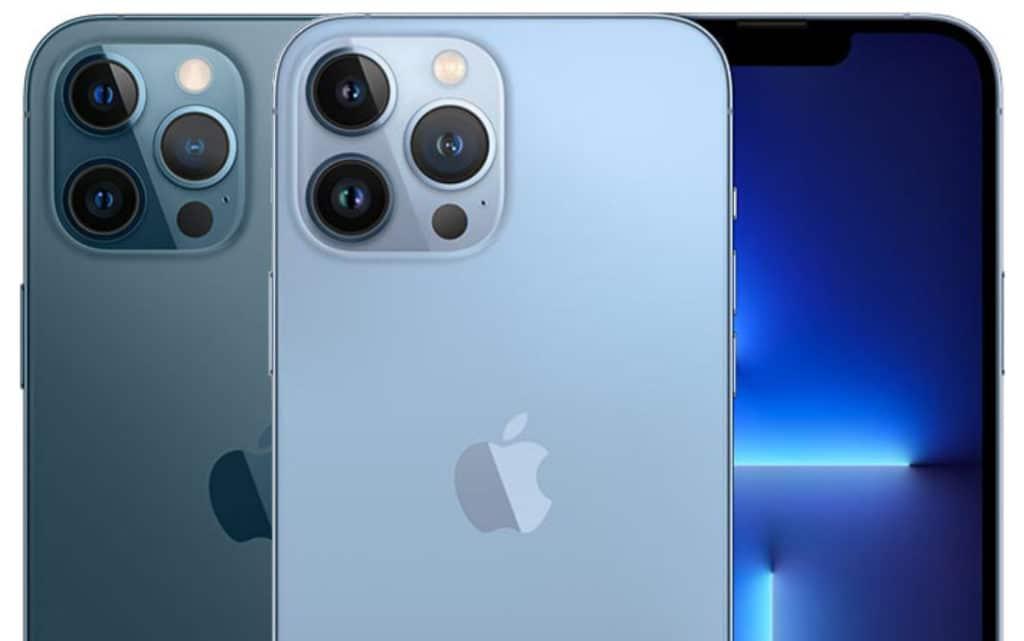 Apple iPhone 12 Pro Max vs iPhone 13 Pro Max: Die Hülle des alten iPhones passt nicht auf das neue Modell.