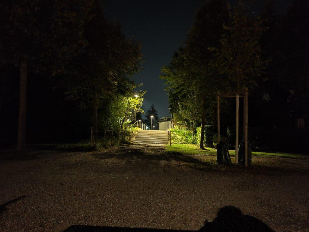 Nachtaufnahme Oppo Reno6 Pro