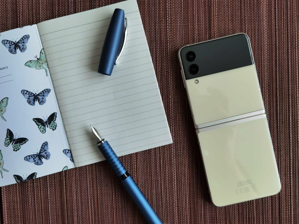 Samsung Galaxy Z Flip 3 Test: Aussehen und Design.