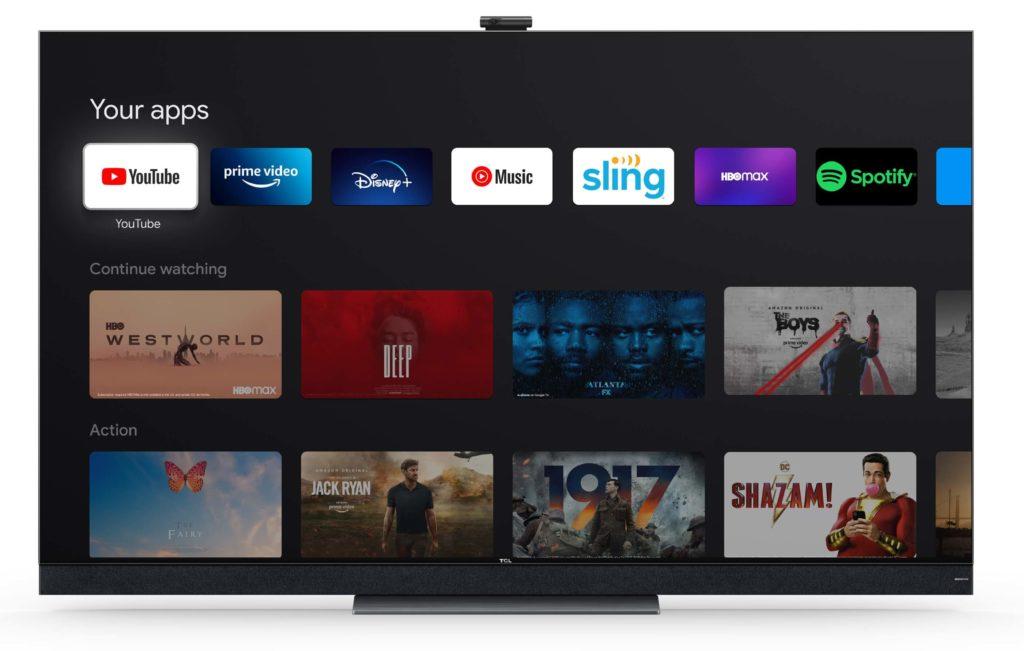 TCL X92 mit Google TV.