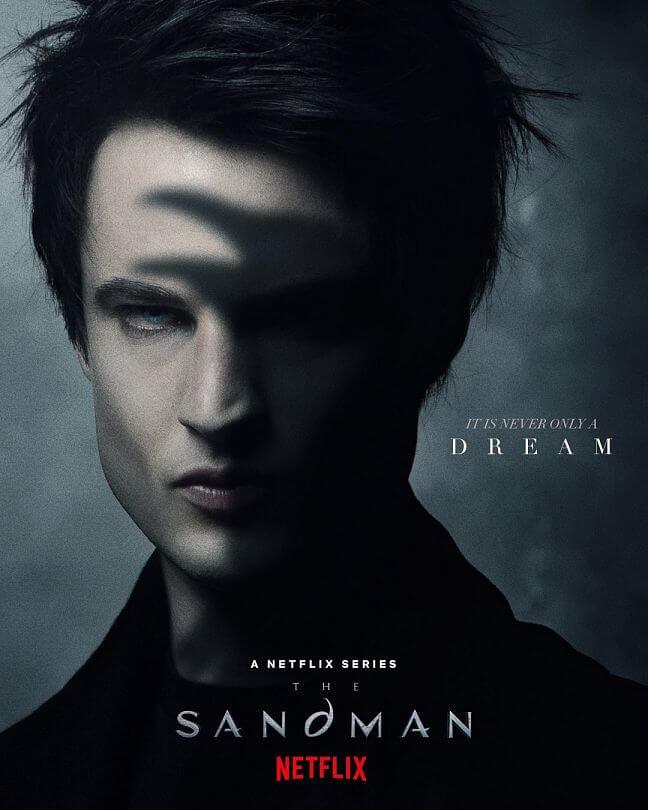 The Sandman von Netflix: Offizielles Poster zur Fantasy-Serie.