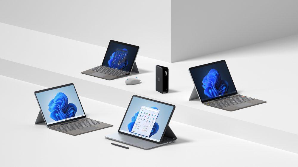 Microsoft Surface Family 2021