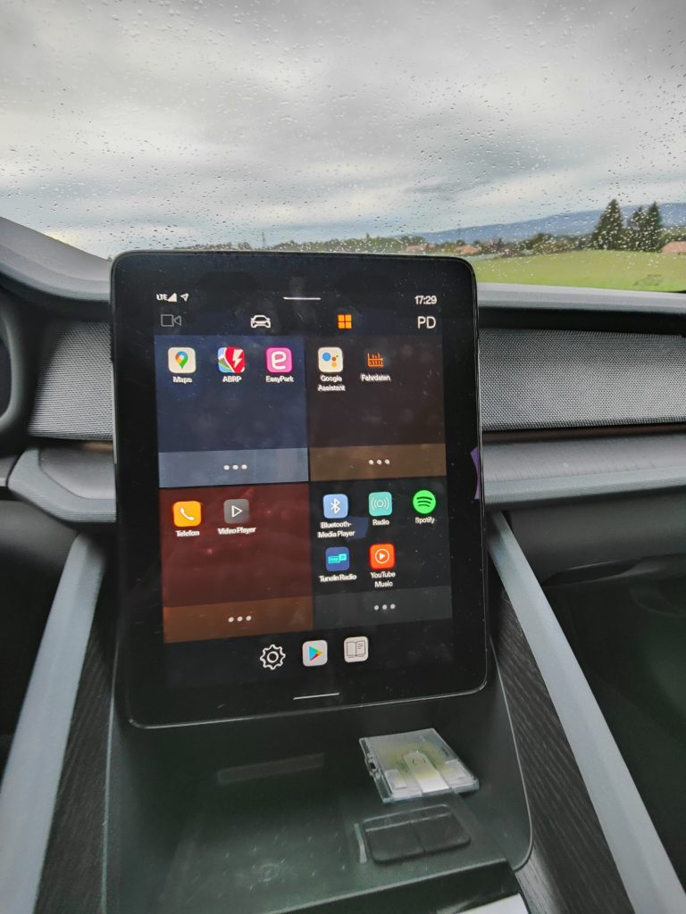 Polestar 2 Touchscreen