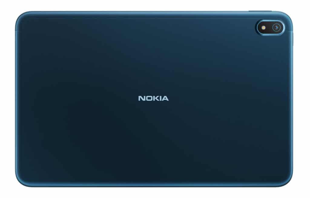 Das Nokia T20 Tablet hat eine Kamera mit 8 Megapixeln auf der Rückseite.